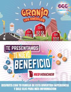 Granja Las Américas un beneficio con excelentes promociones y descuentos para todos nuestros colaboradores