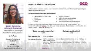 lide_LWS red de psicologos profesionales atencion psicologica Dulce Carolina Lazcano